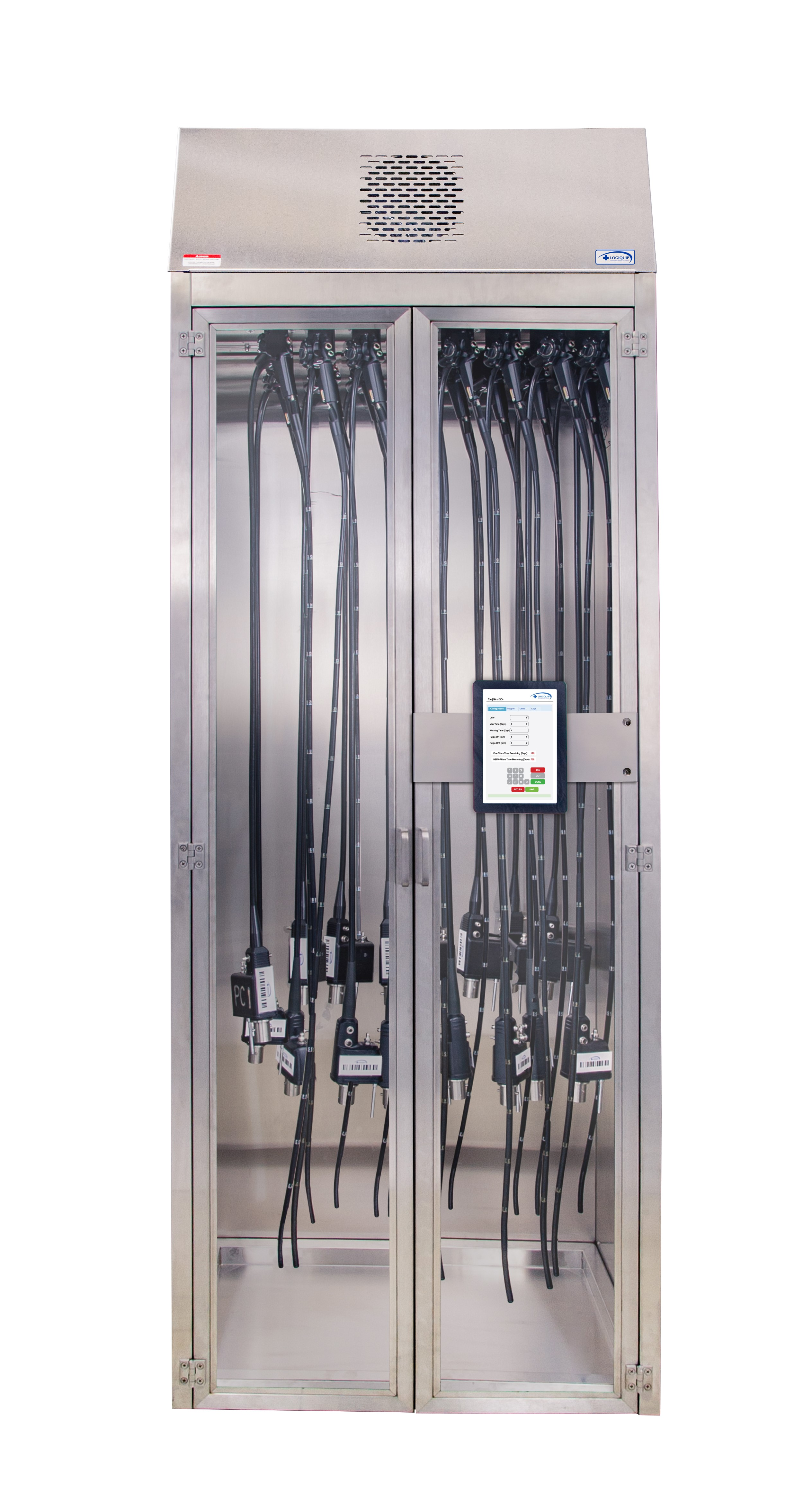 Endoscopy Room Design: Endoscopy Scope Storage Cabinets