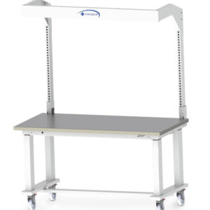 48'' W x 36'' D Electric  height-adjustable Workstation-(Cat.#HTE4836)