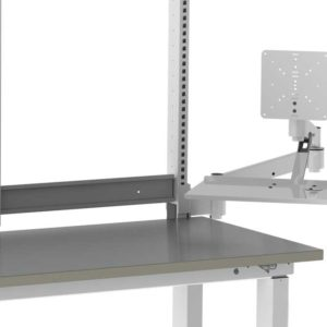 Monitor Arm with Monitor Holder, Workstation Accessory-(Cat.#HTAMK)