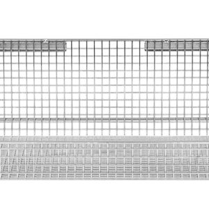 12'' x 18'' ParWall Fine Mesh Basket Shelf-(Cat.#PFW1218FM)