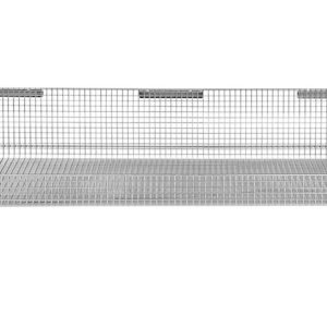12'' x 36'' ParWall Fine Mesh Basket Shelf-(Cat.#PFW1236FM)