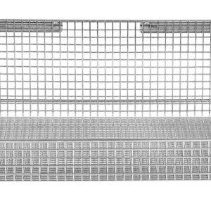 18'' x 18'' ParWall Fine Mesh Basket Shelf-(Cat.#PFW1818FM)