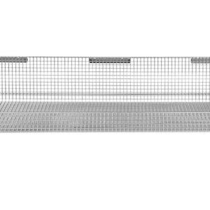 18'' x 36'' ParWall Fine Mesh Basket Shelf-(Cat.#PFW1836FM)
