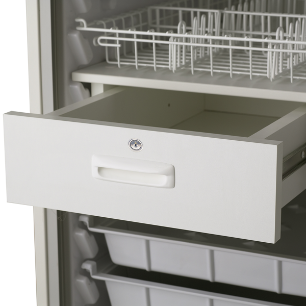 145-24 Lockable Drawer Feature