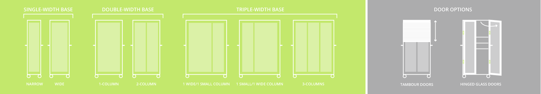 Logicell Cabinet Size Door Graphic