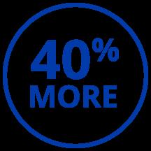 LogiQuip 40% More Icon